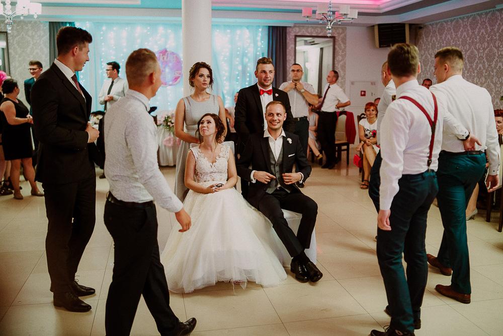 sesja ślubna pałac romantyczny