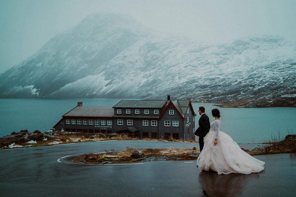 reportaż ślubny norwegia
