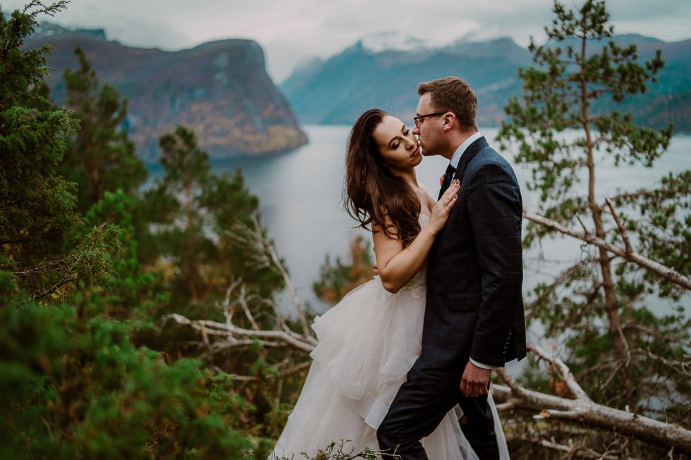 plener ślubny norwegia