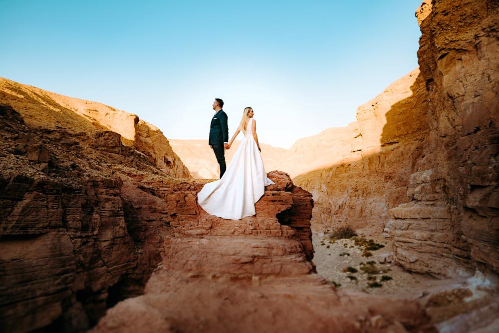 fotograf ślubny w izraelu, sesja na pustyni